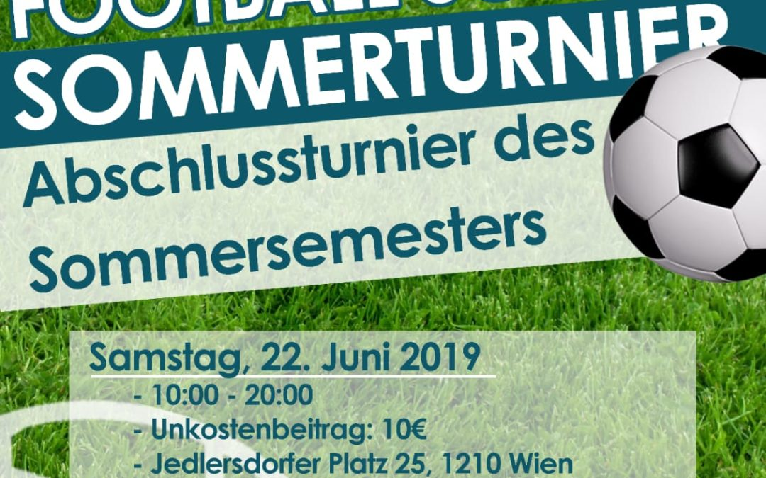 Save the Date – 22.6. Abschlussturnier