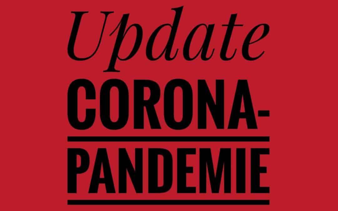 Unser Update zur Corona-Pandemie